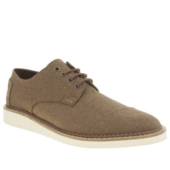 Mens Toms Brown Brogues Shoes