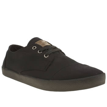 Toms Black Paseo Shoes