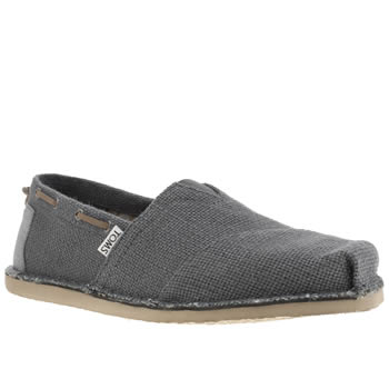 Mens Toms Navy Bimini Shoes