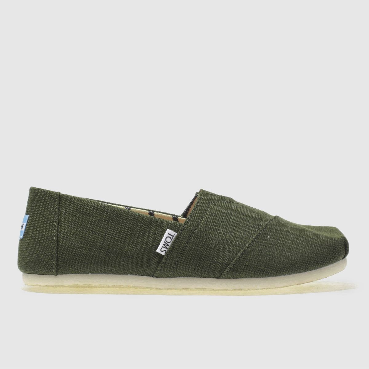 Toms Dark Green Classic Venice Shoes