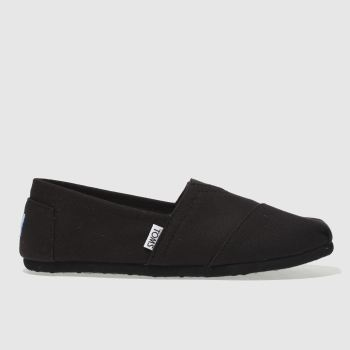 Toms Black Classic Ii Mens Shoes