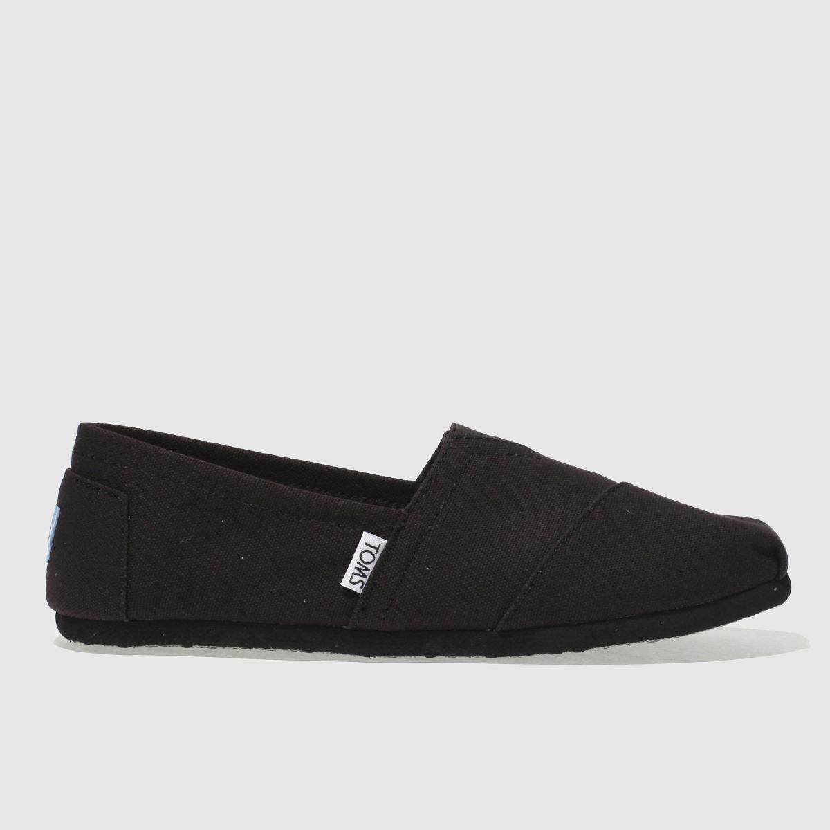 Toms Black Classic Ii Shoes