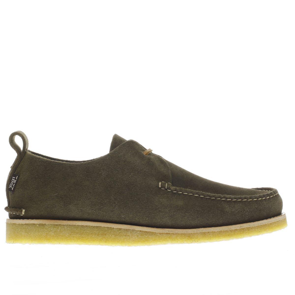 yogi Yogi Khaki Lawson Crepe Shoes