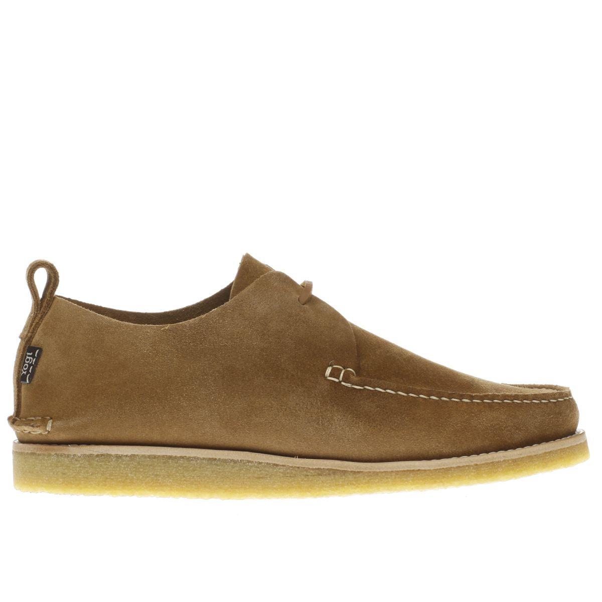 yogi Yogi Tan Lawson Crepe Shoes