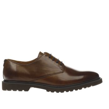 Peter Werth Brown Laurie Derby Mens Shoes