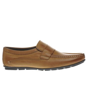 Base London Tan Cartel Loafer Shoes