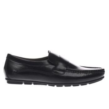 Base London Black Cartel Loafer Mens Shoes