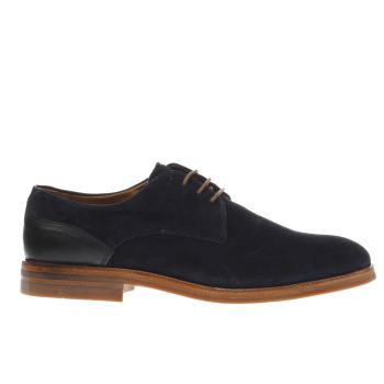H By Hudson Navy Enrico Shoes