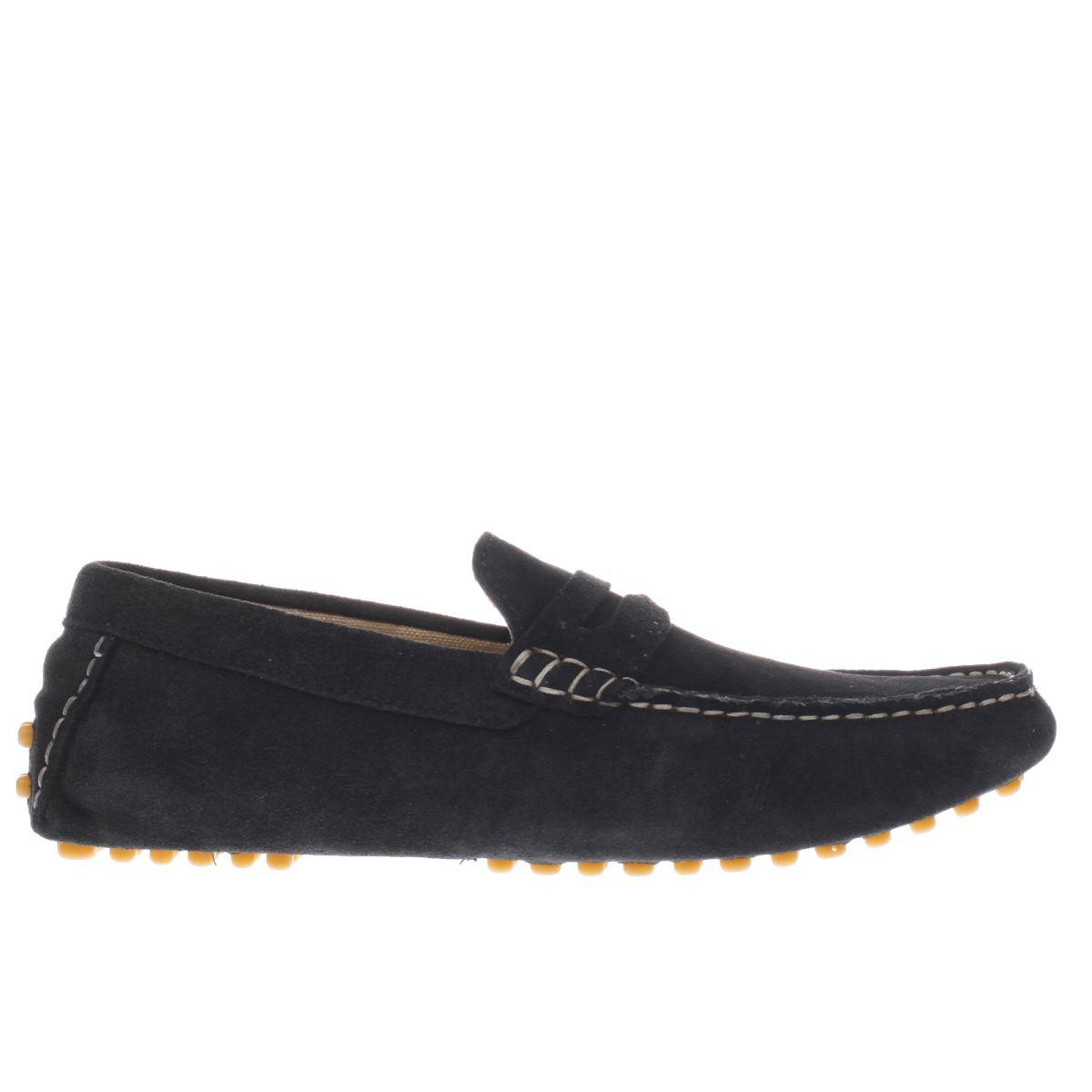 Ikon Ikon Navy Nico Driver Shoes