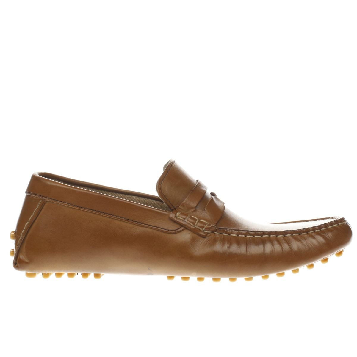 Ikon Ikon Tan Nico Driver Shoes