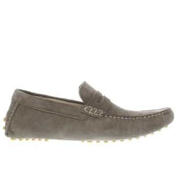 Ikon Grey Nico Driver Mens Shoes