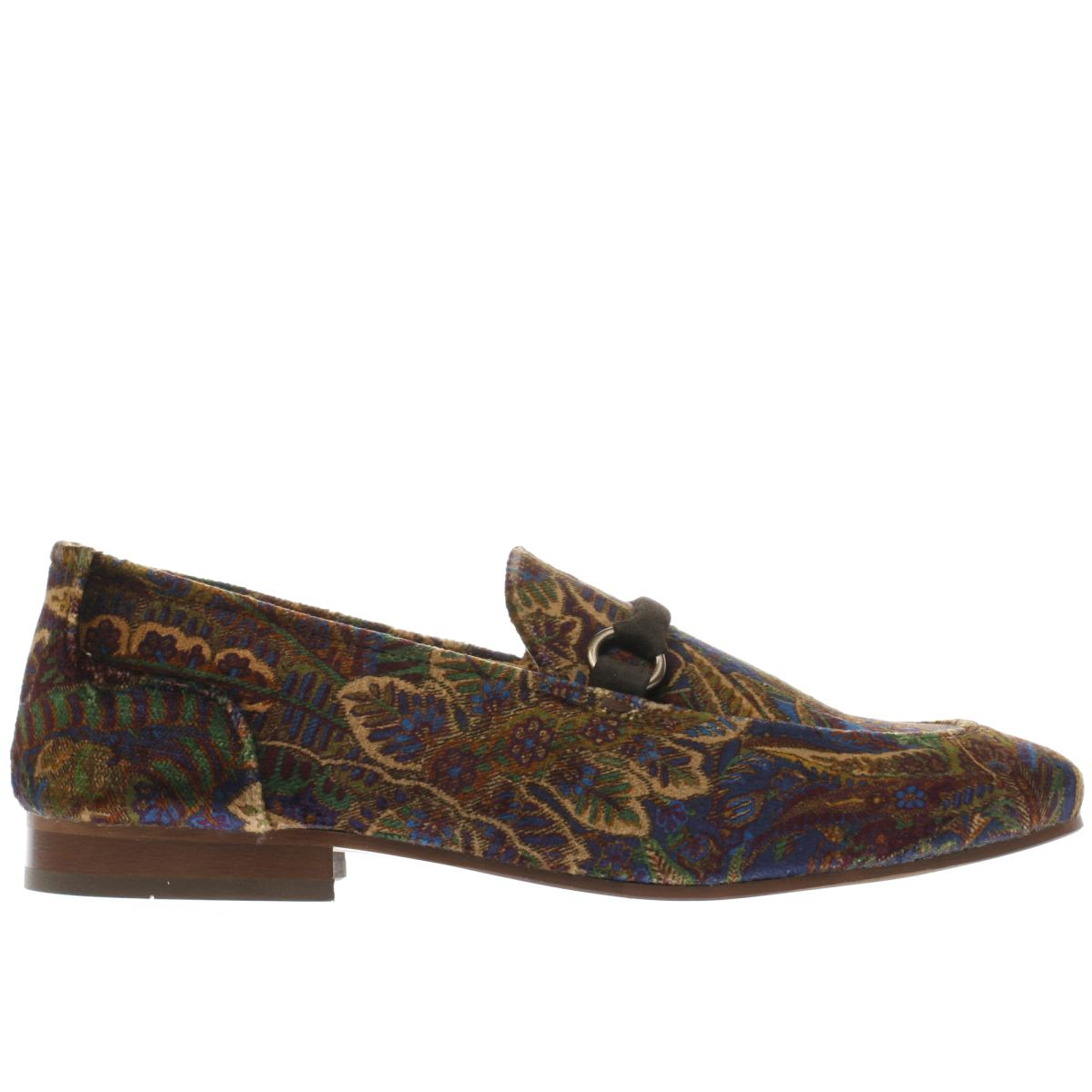 h by hudson navy & gold renzo shoes
