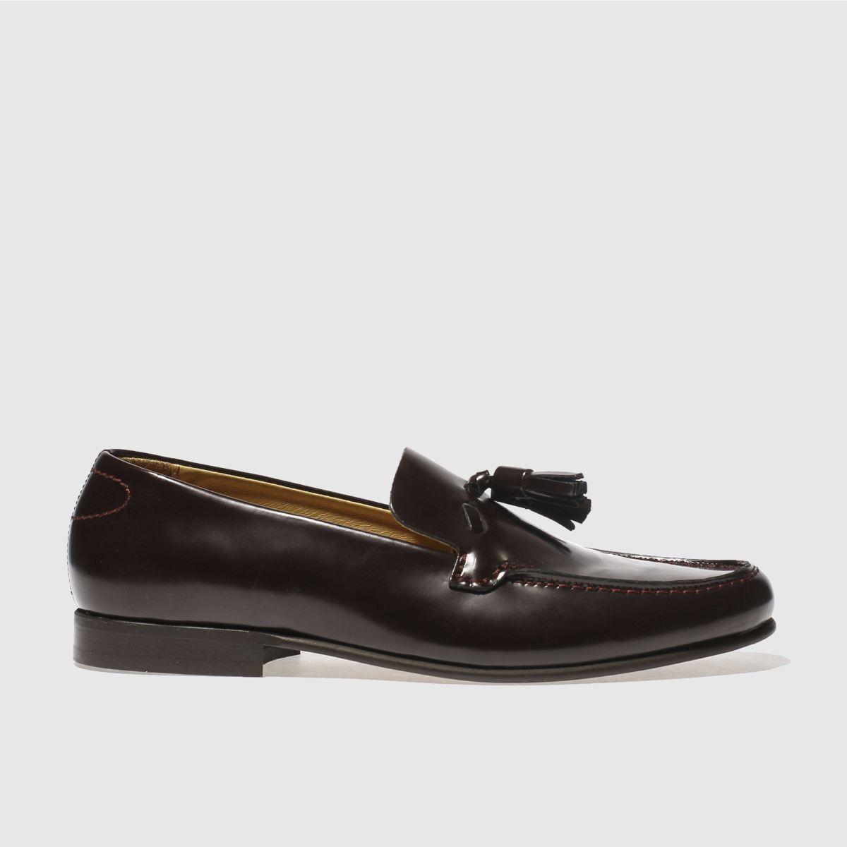 h by hudson burgundy bernini shoes