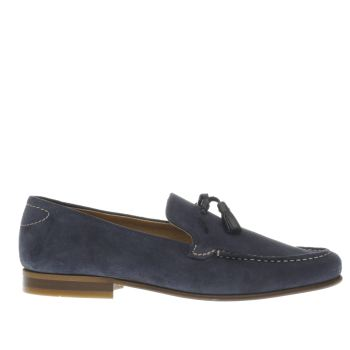 H By Hudson Navy Bernini Mens Shoes
