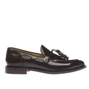 H BY HUDSON BURGUNDY BENEDICT SHOES