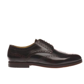 H By Hudson Burgundy Talbot Mens Shoes