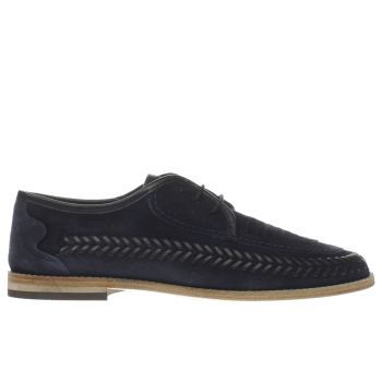 H By Hudson Navy Anfa Mens Shoes