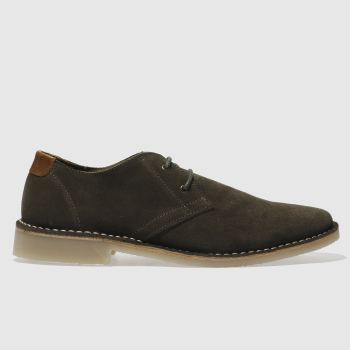 Red Or Dead Khaki Mr Lawrence Derby Mens Shoes