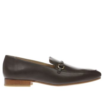 Momentum Brown Bombay Loafer Shoes