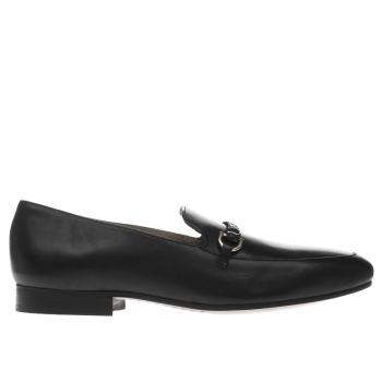 Momentum Black Bombay Loafer Shoes