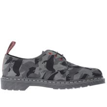 Dr Martens Grey 1461 Staple Mens Shoes