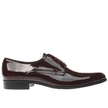 Ted Baker Burgundy Aundre Mens Shoes