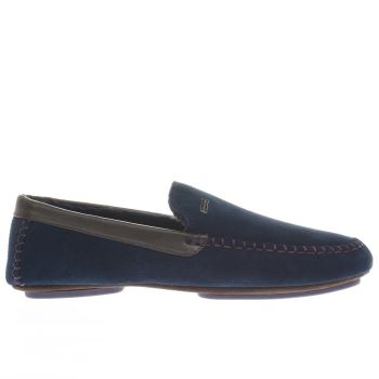 Ted Baker Navy Moriss 2 Mens Slippers