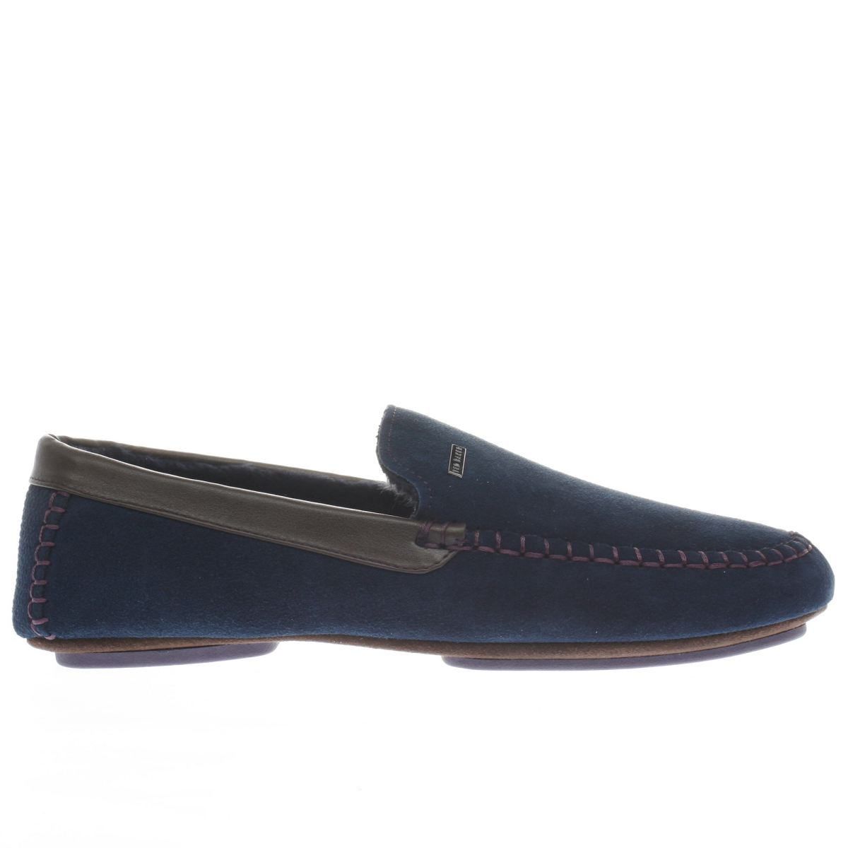 ted baker navy moriss 2 slippers