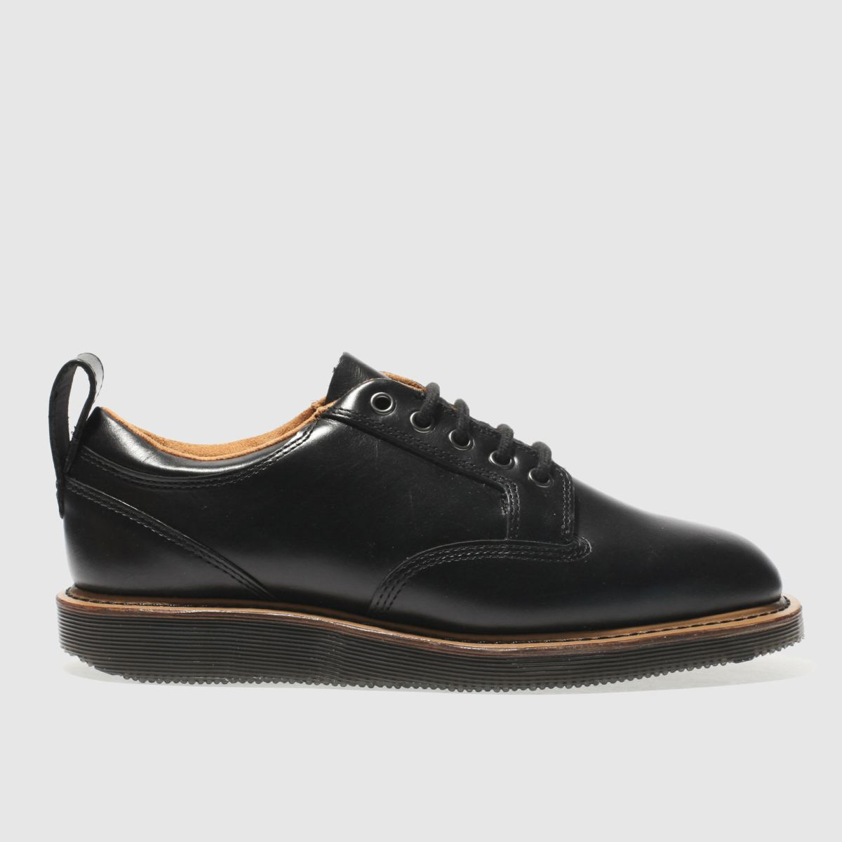 dr martens black neema 5 eye shoes