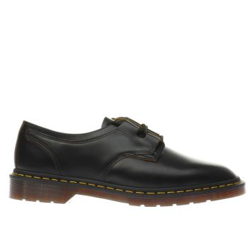Dr Martens Black 1461 Ghille Mens Shoes