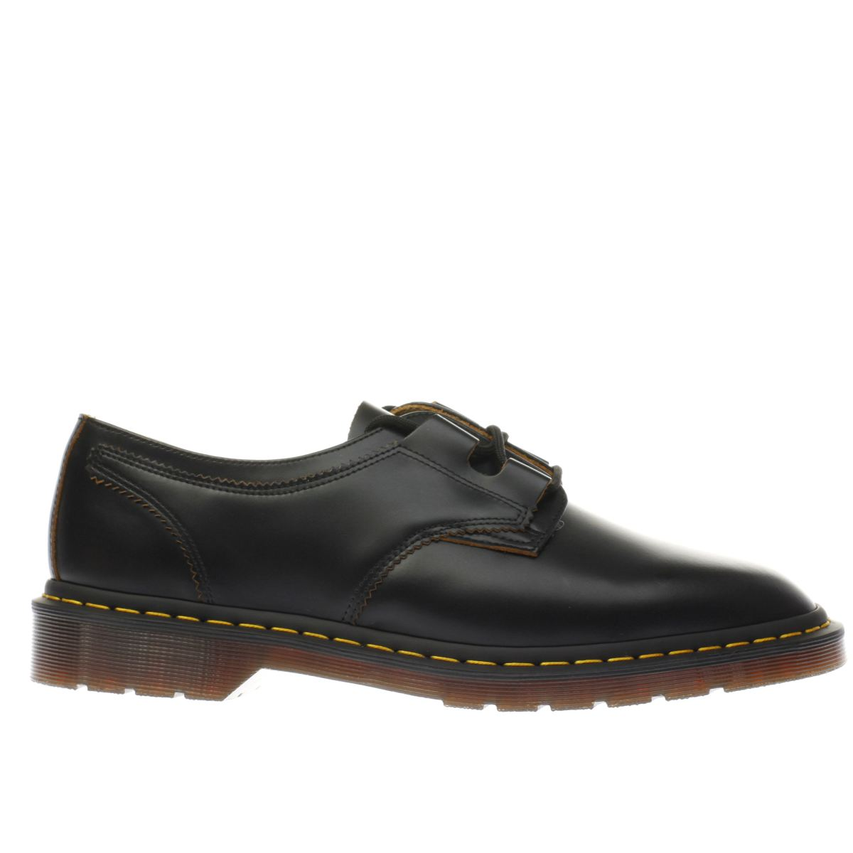 dr martens black 1461 ghille shoes