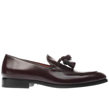 Paul Smith Shoe Ps Burgundy Elgin Mens Shoes