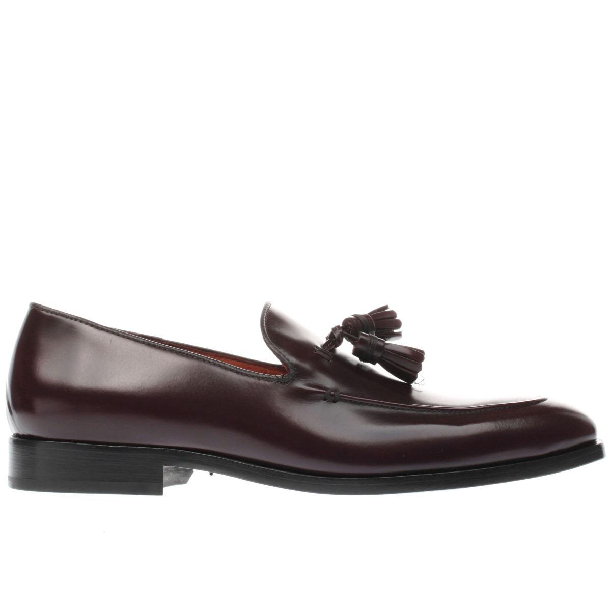 paul smith shoe ps burgundy elgin shoes