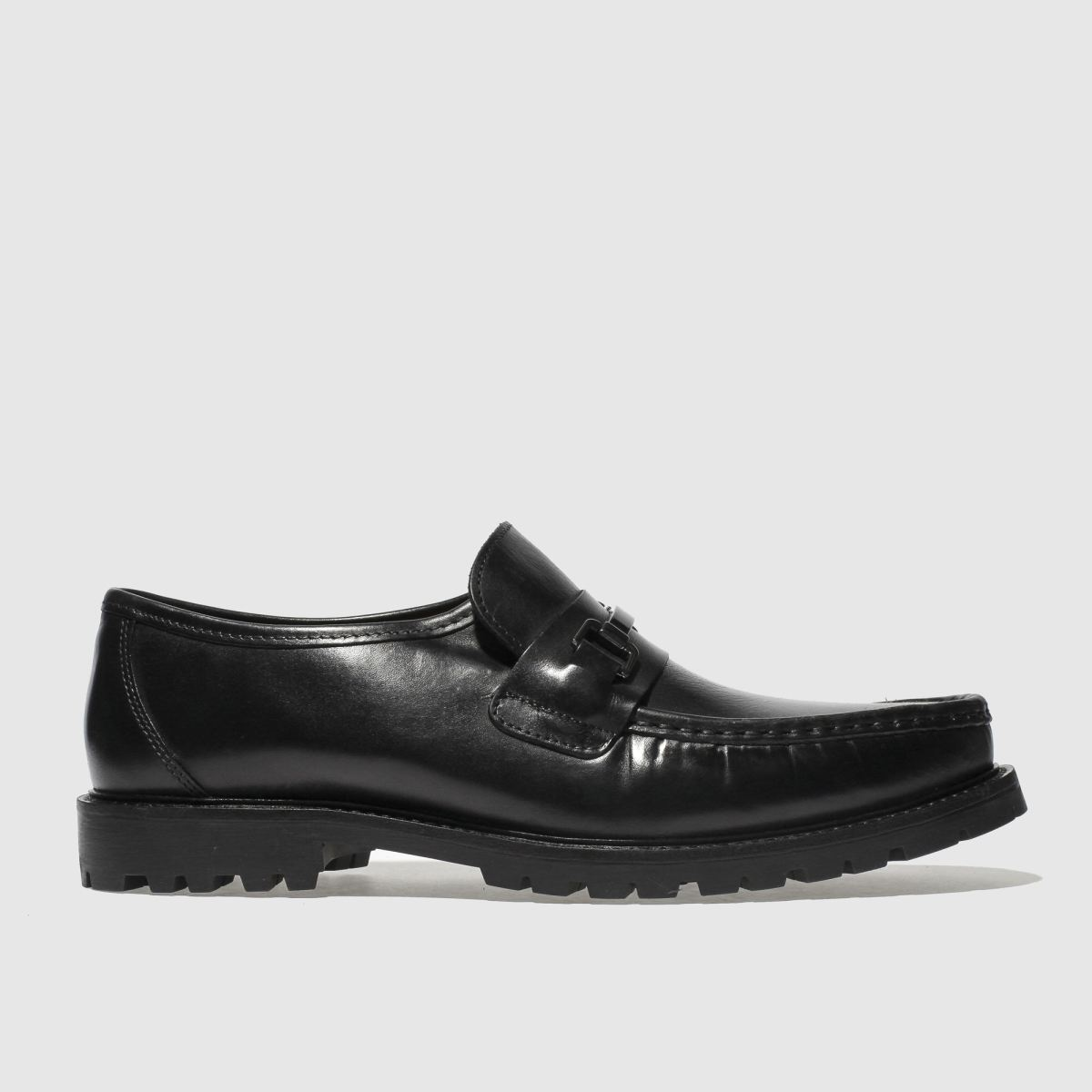 Base London Black Breach Shoes