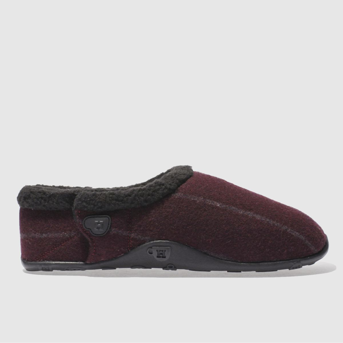homeys burgundy vic slippers