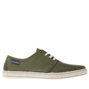 Red Or Dead Khaki Mr Cruz Mens Shoes