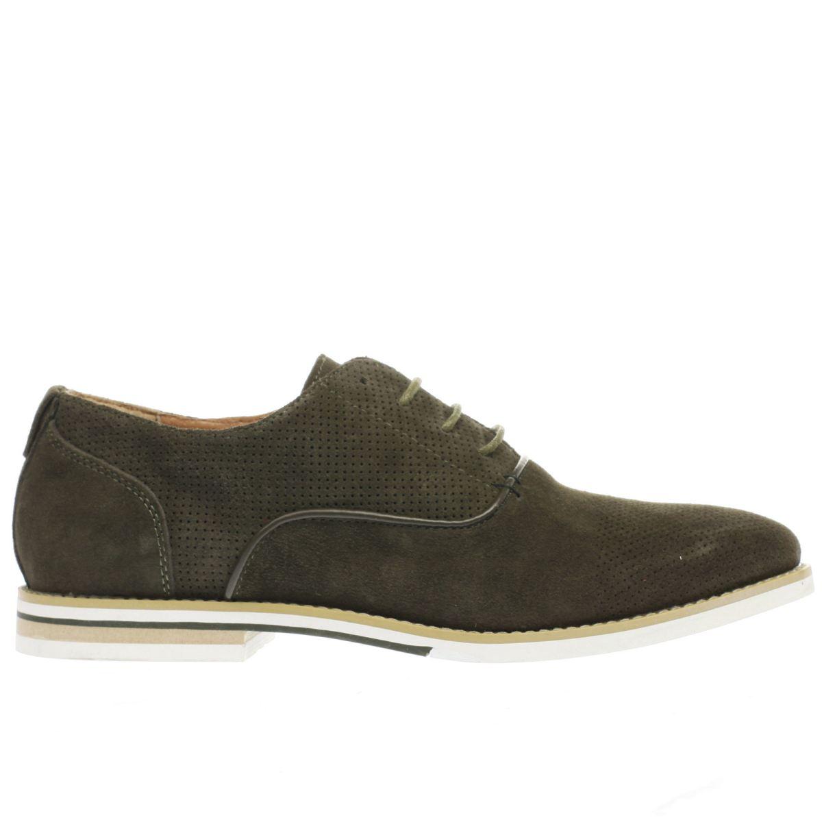 peter werth khaki nesbit oxford perf shoes