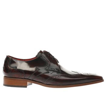 Jeffery West Brown Escobar Bolt Wing Mens Shoes