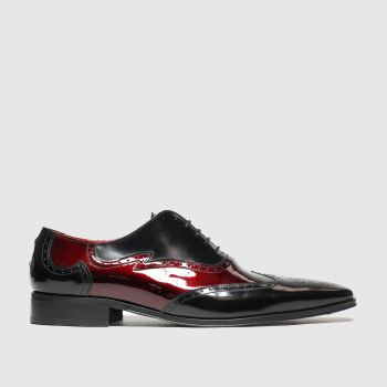 Jeffery West Black Escobar Brogue Ox Mens Shoes