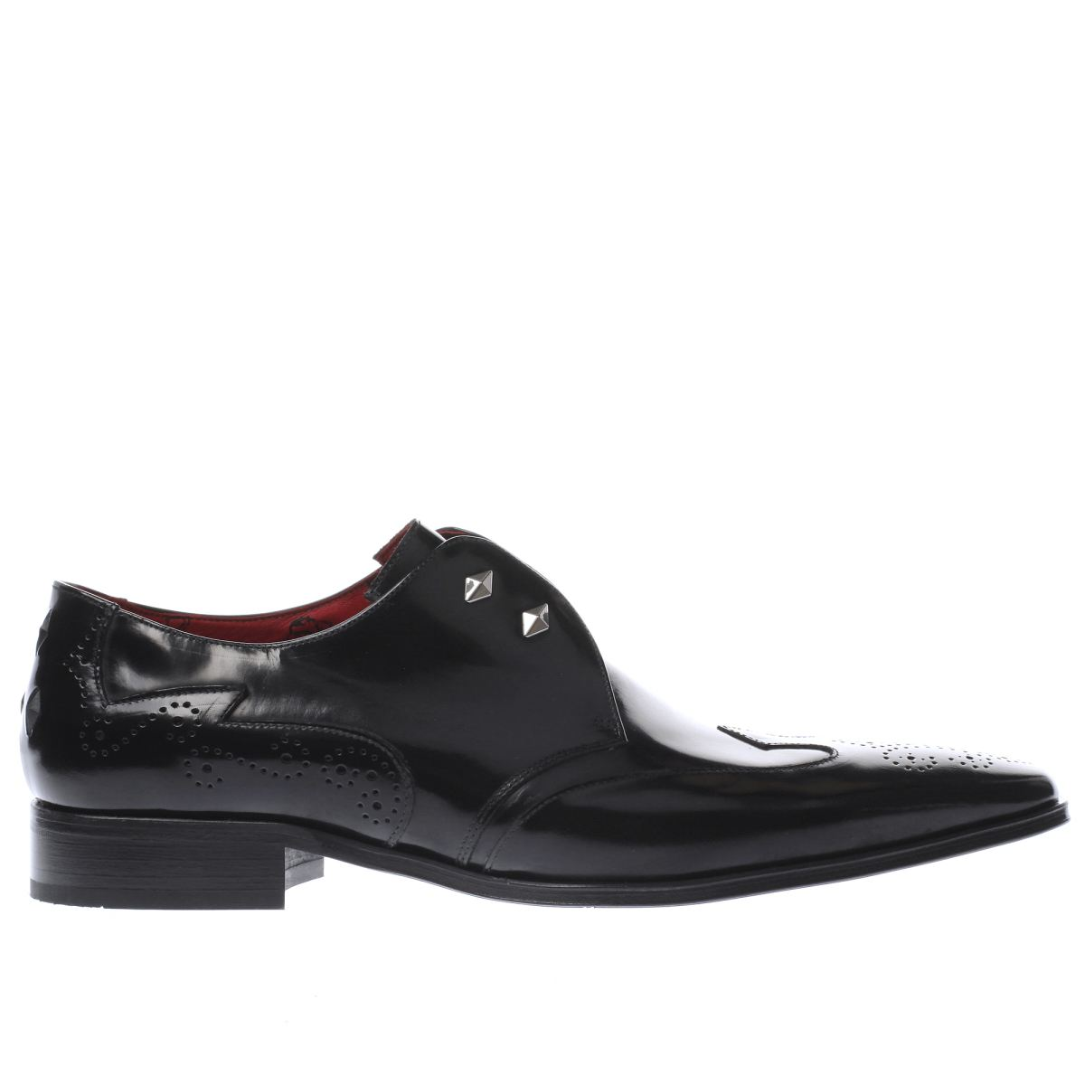 jeffery west black escobar diamond ghill shoes