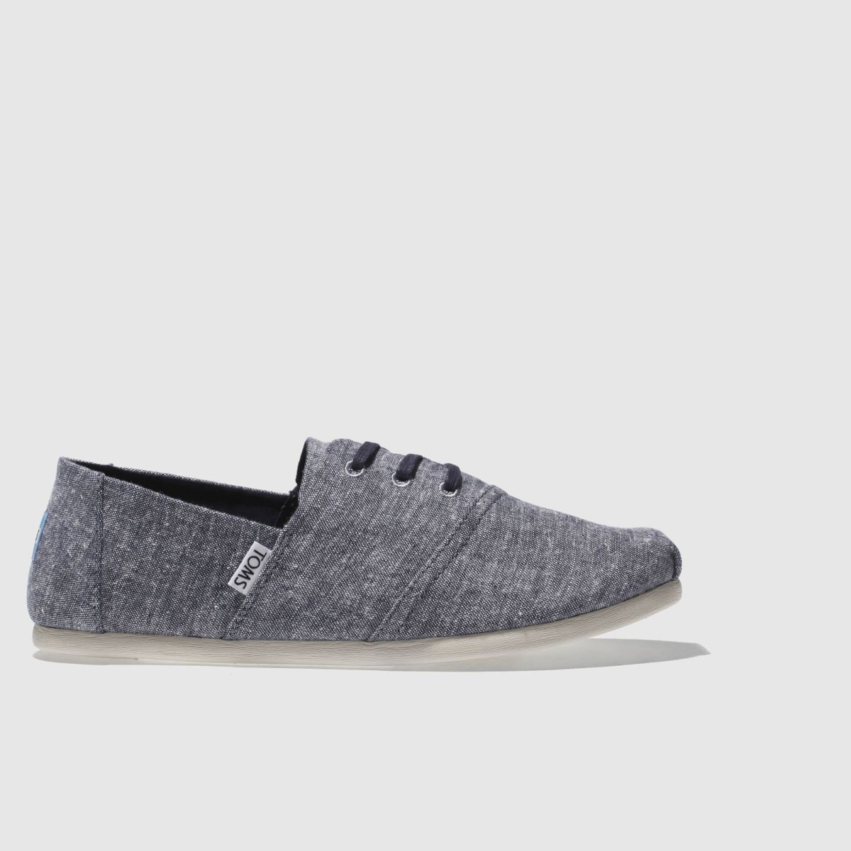 Toms Navy & White Hermosa Shoes