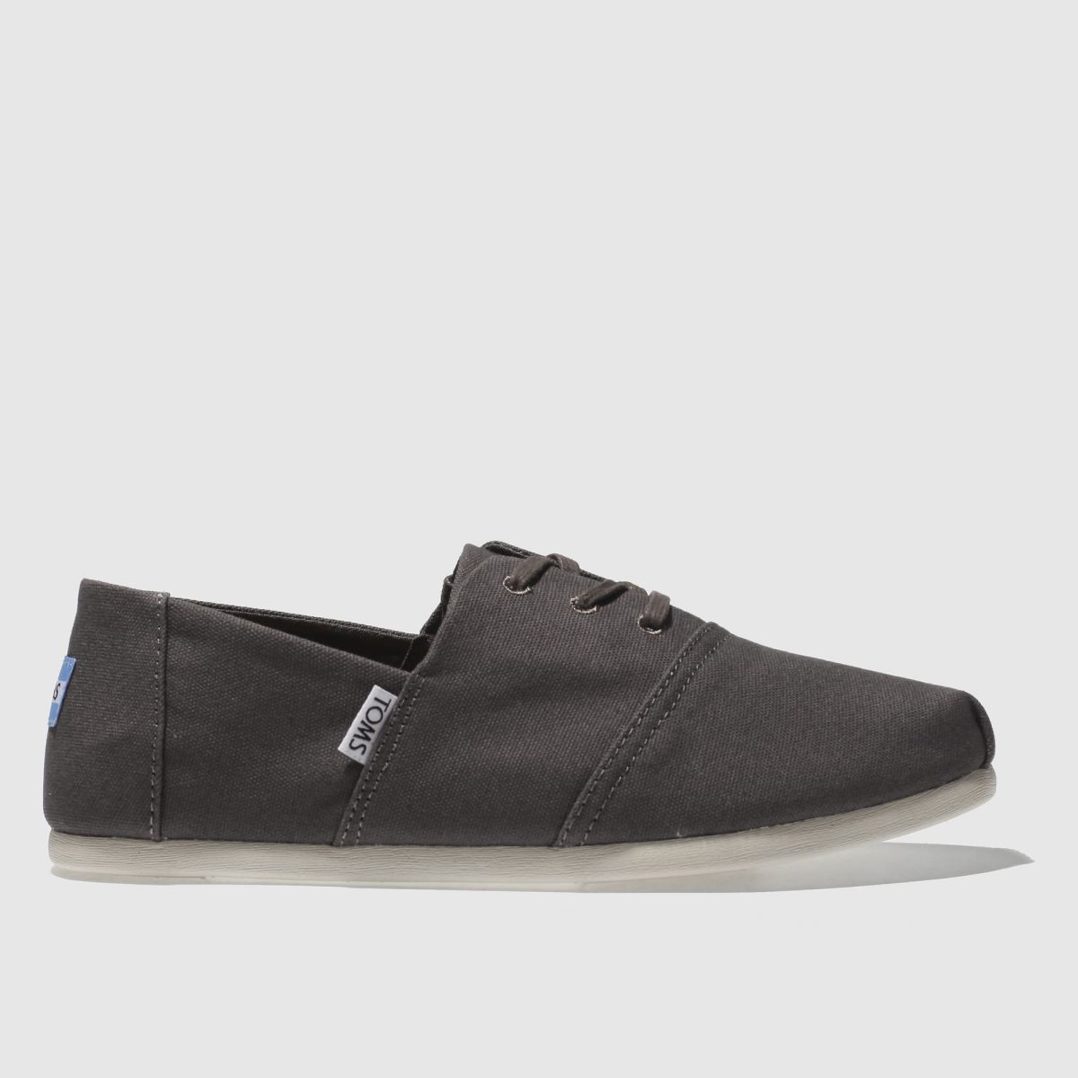 Toms Dark Grey Hermosa Shoes