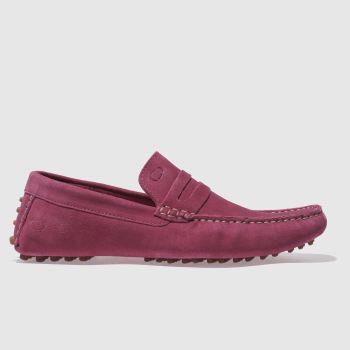 Base London Pink Morgan Mens Shoes