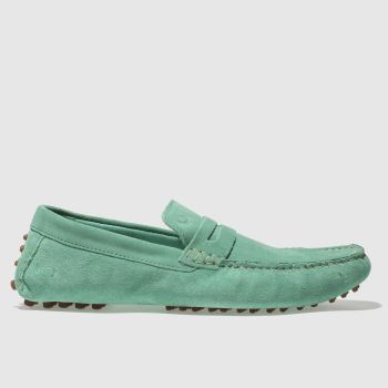 Base London Green Morgan Mens Shoes