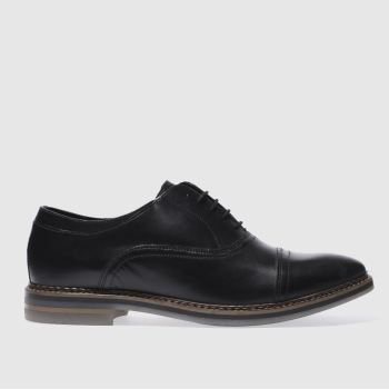 Base London Black Harvey Mens Shoes