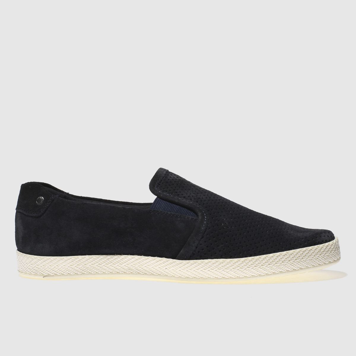 Base London Navy Clipper Shoes