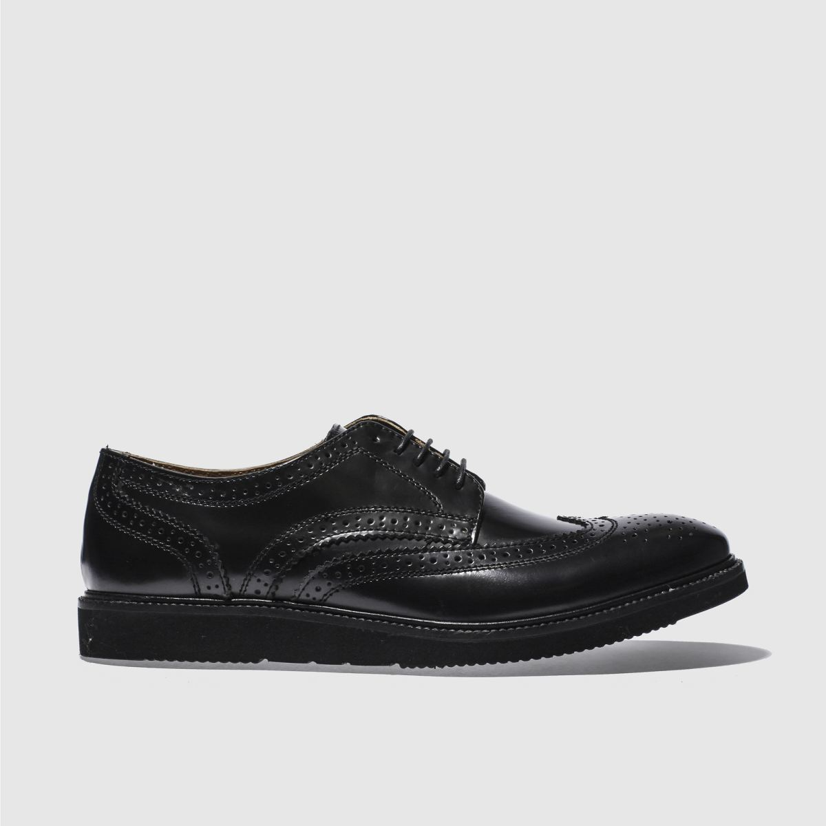 base london black orion shoes