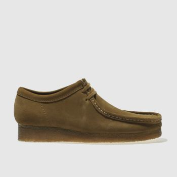 Clarks Originals Brown Wallabee Mens Shoes