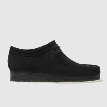 Clarks Originals Black Wallabee Mens Shoes