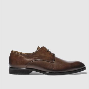 Schuh Brown Troy Gibson Mens Shoes